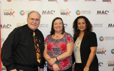 Candice Liozu with Foster360 and Robert Rhoton with Arizona Trauma Institute