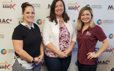 Junior Achievement with Anne Landers and ASU Lodestar Center with Nicole Almond Anderson